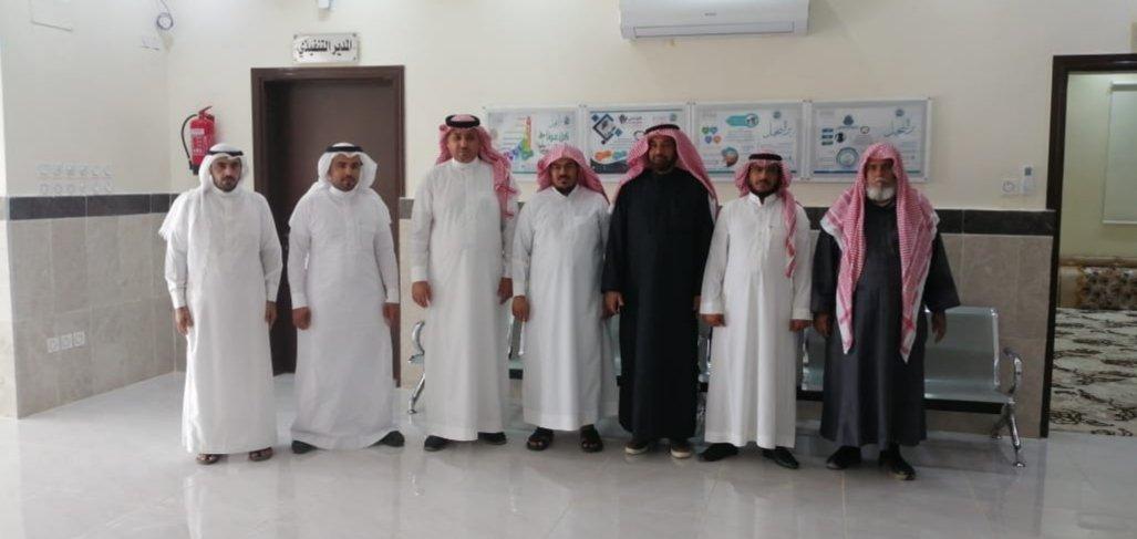 استقبل رئيس مجلس إدارة جمعية النخيل الخيرية